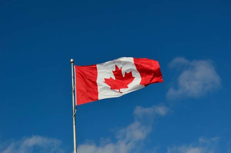 canadian flag.