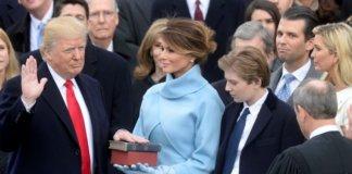 Inauguration of Donald Trump.