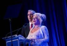 Parham Zar, President, Friends of Sheba and Beverly Cohen, Gala Chair.
