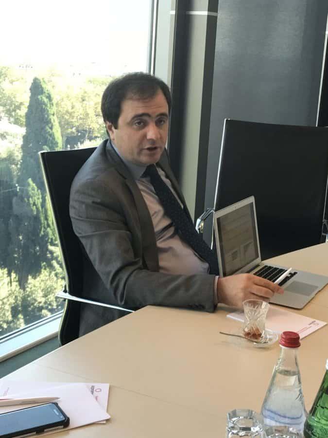 Azpromo center Rufat Mammadov President.