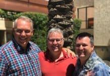 Tom Matzen, Martin Barnes and Frank Bria.