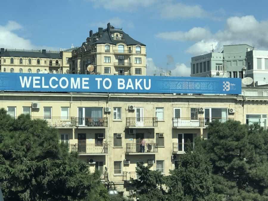 Welcome to Baku.