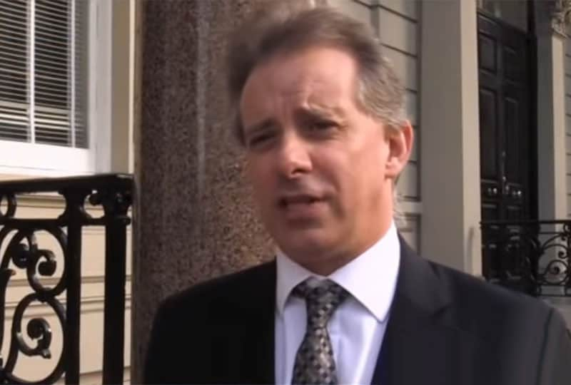 steele dossier author, christopher steele.