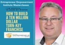 one of 32 entrepreneur empowerment institute masterclasses.