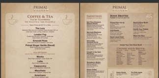 primal kitchen menu.
