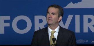 Virginia Governor-Elect Ralph Northam.