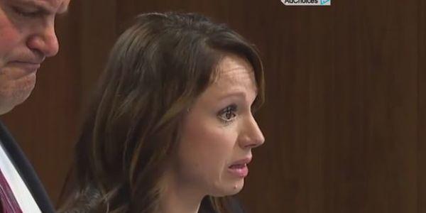 Rebecca Bredow in court over vaccine refusal.