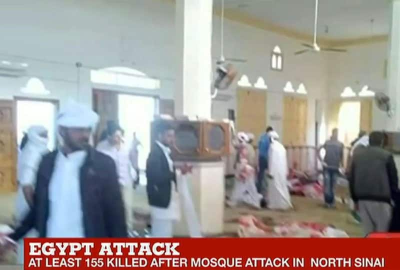 terrorist attack on egyptian mosque.