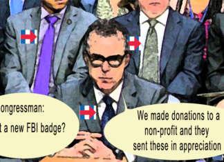 The FBI gets new badges.
