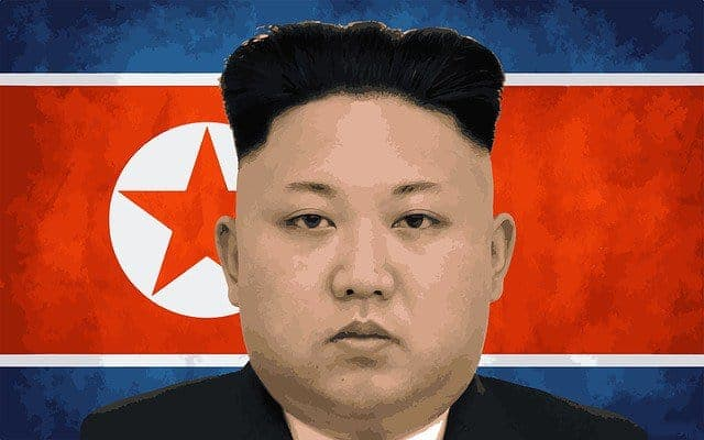 Kim Jong Un, the communist leader of North Korea.