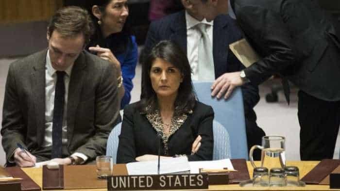 UN - US Ambassador Nikki Haley