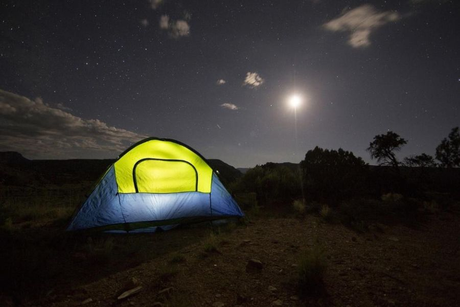 camping. photo from pixabay.