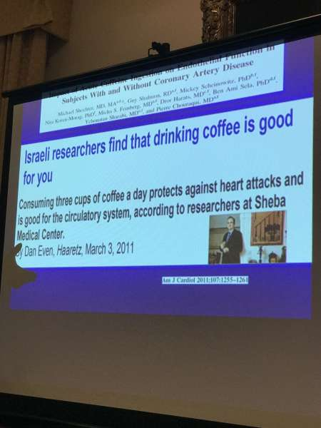 Israeli research concludes coffee is good for you