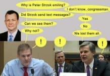 fbi loses strzok texts.