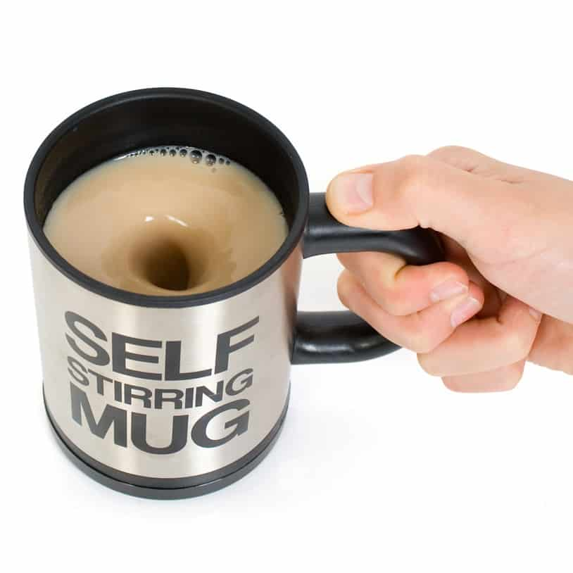 Firebox Self Stirring Mug