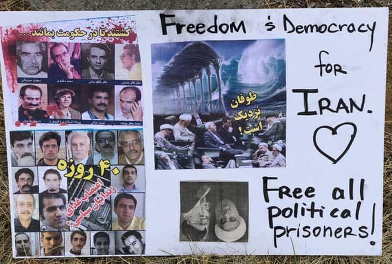 freedom democracy iran.