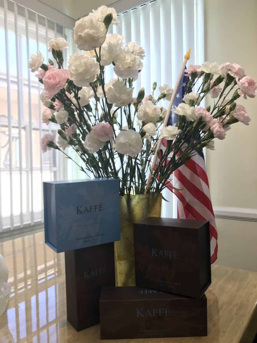 Kaffé Skincare products made in the USA
