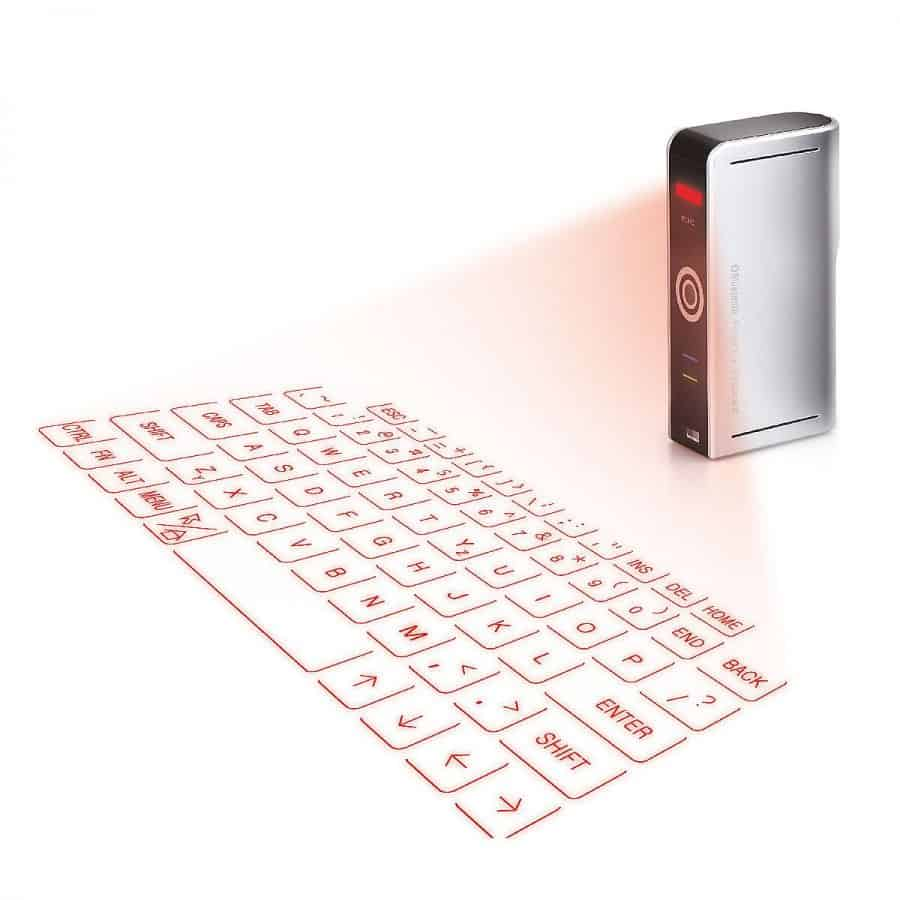 Laser Projection Keyboard by Uncommon Goods