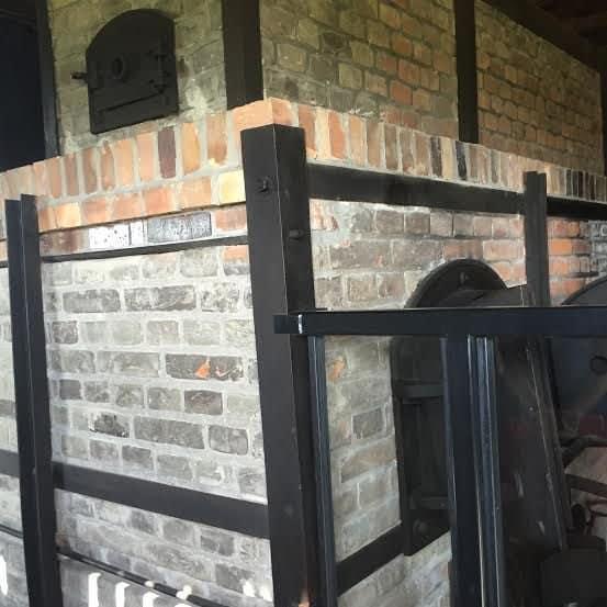Majdanek, Lublin Poland, Death Camp, the ovens to burn Jews