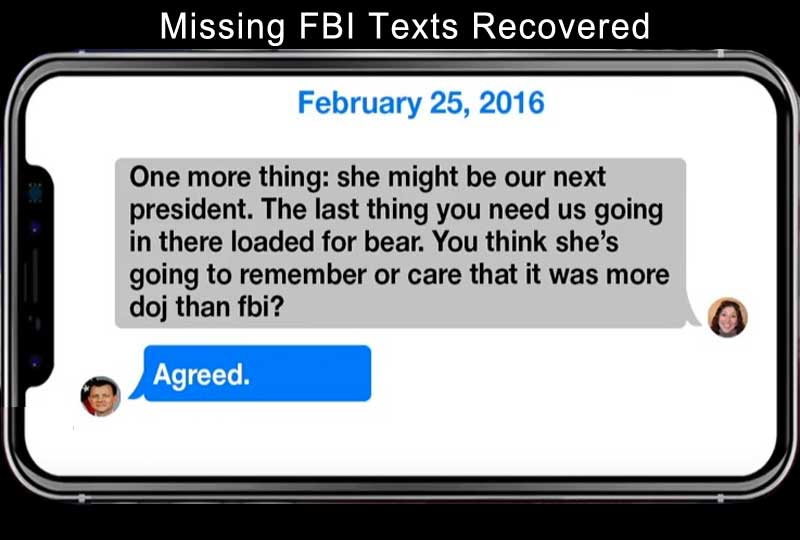 missing fbi texts recovered.