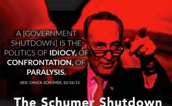 the schumer shutdown