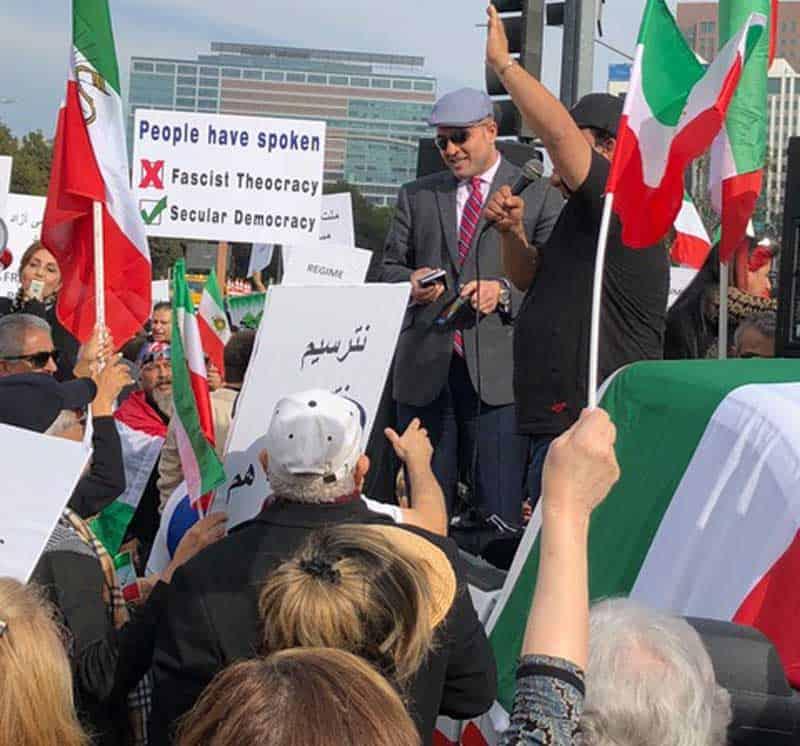 secular democracy iran