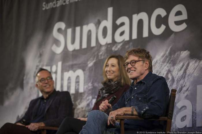 Robert Redford at Sundance Film Festival