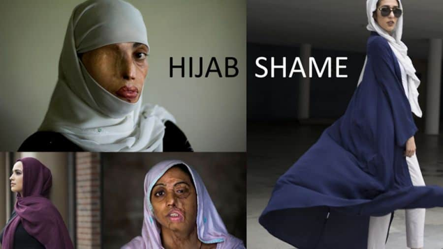 Real hijab and Macy's hijab