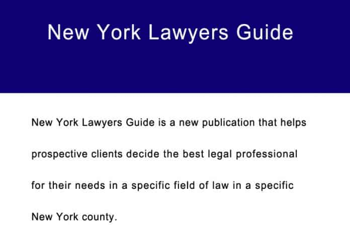 new york lawyers guide