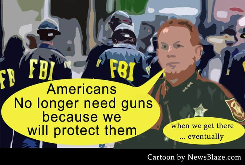 no need for guns cartoon.