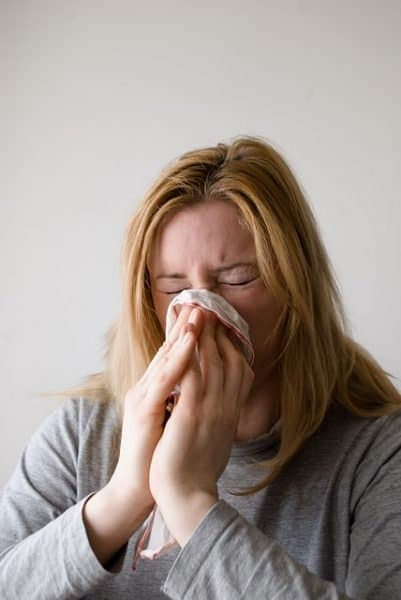 Flu is a common infectious viral illness spread by coughs and sneezes.