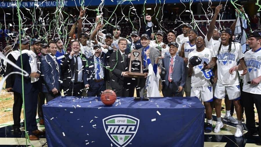 2018 MAC Championship, Buffalo wins MAC title.