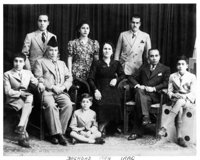 The Samuels' in Baghdad 1944