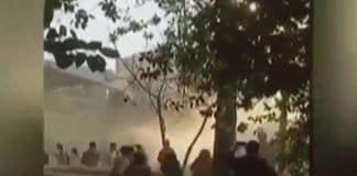 Iran fire festival protests