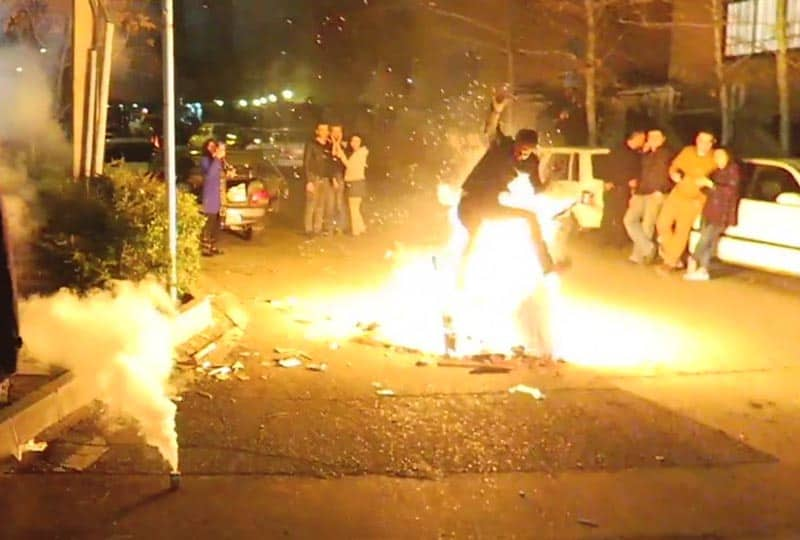 persian festival of fire.