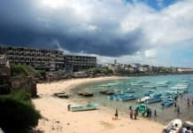 somali fishing village.