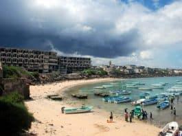 somali fishing village.