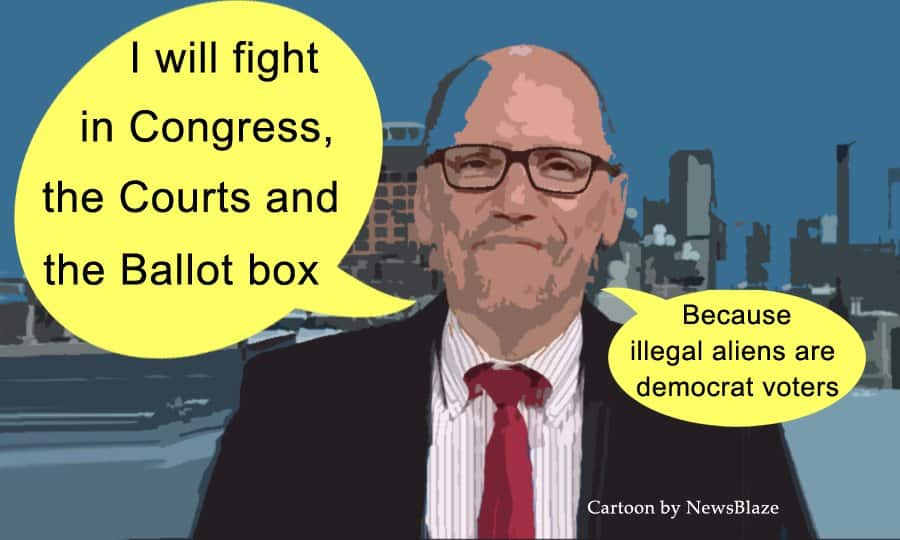tom perez, illegal alien champion.