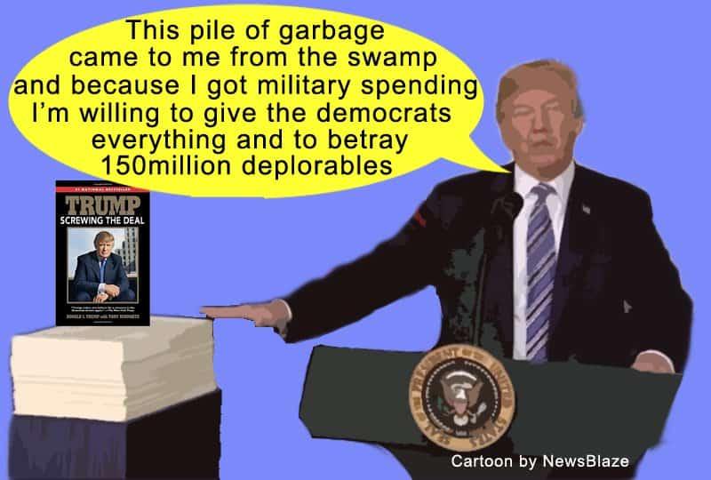 trump screws omnibus deal