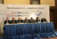 Summarizing election at the Baku Elections Headquarters