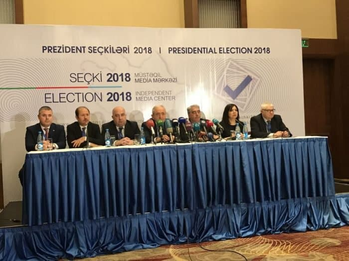 Election in Azerbaijan: Summarizing election at the Baku Elections Headquarters