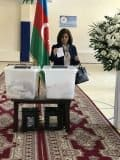 Voting in Baku, April 11, 2018