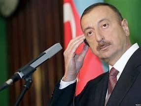 Azerbaijan President Ilham Aliyev