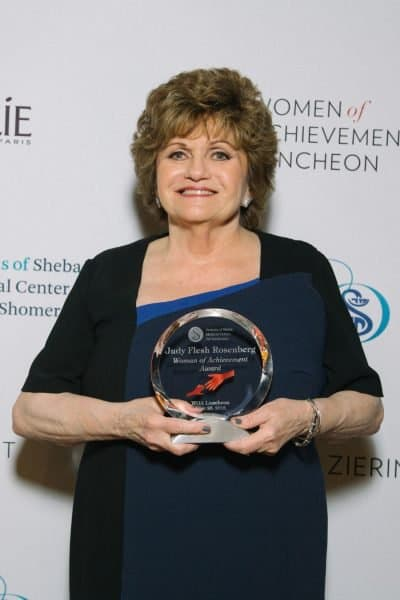 Judy Flesh Rosenberg, with Women of Achievement Award