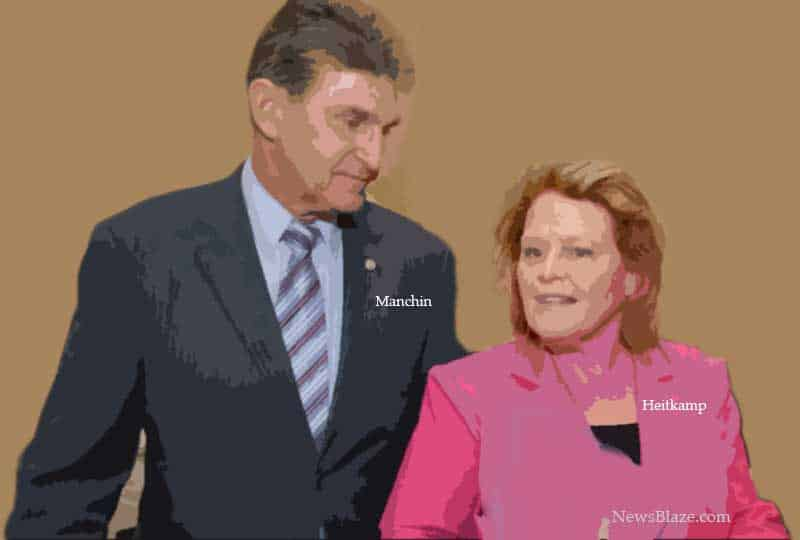 manchin and heitkamp.