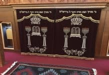 Inside the Synagogue of Mountain Jews