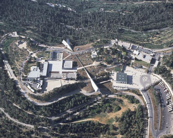 Yad Vashem, the Museum of the Holocaust in Israel, compound