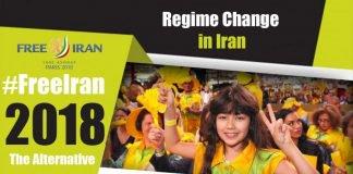 regime change in iran.