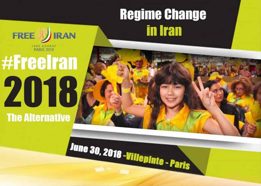 Regime change in Iran.