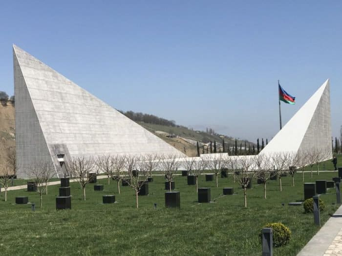 Guba memorial dedicated to the 1918 Soviet-Armenians genocide